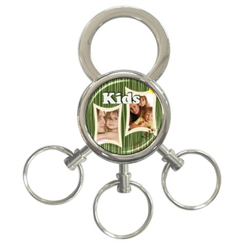 Kids By Wood Johnson   3 Ring Key Chain   6e50a7uu9wyo   Www Artscow Com Front