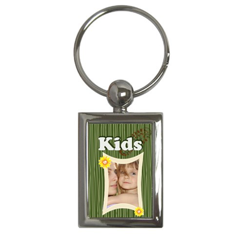 Kids By Wood Johnson   Key Chain (rectangle)   A15a4freu7s6   Www Artscow Com Front