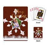 snow xmas - Playing Cards Single Design