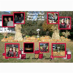 2010 Christmas Card By Paulette   5  X 7  Photo Cards   Uv0jrxxt88o2   Www Artscow Com 7 x5 Photo Card - 1