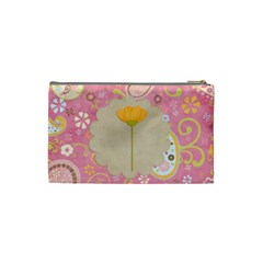 Bright And Fun Cosmetic Bag By Sheena   Cosmetic Bag (small)   Uhc008z0xa7t   Www Artscow Com Back