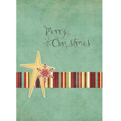 Holly Jolly Christmas Greeting Card By Sheena   Greeting Card 5  X 7    Up3gn1plmvec   Www Artscow Com Front Cover