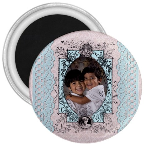 3 Inch Magnet 3 By Ivelyn   3  Magnet   4wsyd14002rq   Www Artscow Com Front