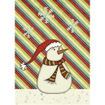 White Christmas Greeting Card - Greeting Card 5  x 7