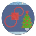 Christmas magnet - 5   - Magnet 5  (Round)