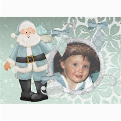 Christmas 7x5 Santa2 By Lillyskite   5  X 7  Photo Cards   8a2earznfup1   Www Artscow Com 7 x5  Photo Card - 5