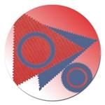 Shapes magnet - 5   - Magnet 5  (Round)