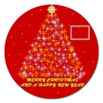 Merry Christmas magnet - 5   - Magnet 5  (Round)