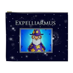 Expelliarmus Wizard Words Cosmetic Case By Catvinnat   Cosmetic Bag (xl)   U6cdl3mxkl91   Www Artscow Com Front