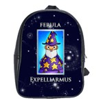 Expelliarmus Wizard Words Backpack schoolbag - School Bag (Large)