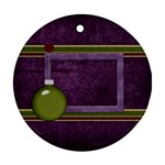 All I Want for Christmas Ornament 103 - Ornament (Round)