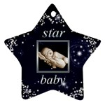 Star Baby Star Ornament - Ornament (Star)