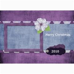 Lavender Rain Card 101 By Lisa Minor   5  X 7  Photo Cards   5j3bix3xnr2w   Www Artscow Com 7 x5 Photo Card - 1