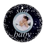 Star Baby Round ornament - Ornament (Round)