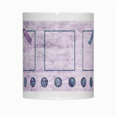Lavender Rain Mug 101 By Lisa Minor   White Mug   8cba98ekgl8w   Www Artscow Com Center