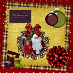 All I Want for Christmas 20x20 Canvas - Canvas 20  x 20