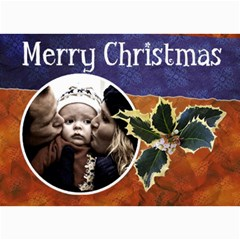 Christmas Cards By Carmensita   5  X 7  Photo Cards   Ozsh6flf35fw   Www Artscow Com 7 x5 Photo Card - 1