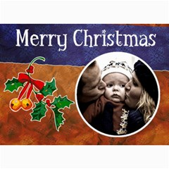Christmas Cards By Carmensita   5  X 7  Photo Cards   Ozsh6flf35fw   Www Artscow Com 7 x5 Photo Card - 7