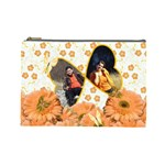 flowes cosmetic bag 1 - Cosmetic Bag (Large)