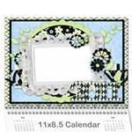 2011 11x8.5 Calendar 12 Months - Wall Calendar 11  x 8.5  (12-Months)