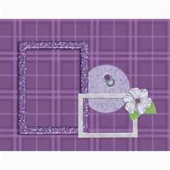 Lavender Rain Calendar by Lisa Minor Month