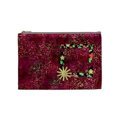 Girl Power Cosmetic Bag Medium By Lisa Minor   Cosmetic Bag (medium)   Htxjdr92kb6g   Www Artscow Com Front