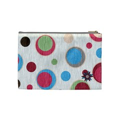 Bloop Bleep Cosmetic Bag Medium By Lisa Minor   Cosmetic Bag (medium)   K6mmpn4hw4mt   Www Artscow Com Back