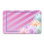 flowers magnet - Magnet (Rectangular)