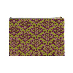 Cosmetic Case  Purple Love  Large By Jennyl   Cosmetic Bag (large)   Gk02vucrrduz   Www Artscow Com Back
