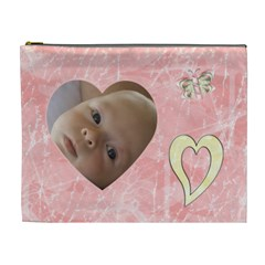 Gentle Times Xl Cosmetic Case By Joan T   Cosmetic Bag (xl)   I1btb58xr1at   Www Artscow Com Front