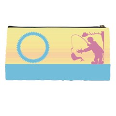 Fisherman By Daniela   Pencil Case   Jjfco6c1u7cs   Www Artscow Com Back