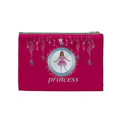 Wish Upon A Star Princess Cosmetic Case By Catvinnat   Cosmetic Bag (medium)   52fexbviihfc   Www Artscow Com Back