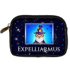 Expelliarmus Wizard Words Camera Case By Catvinnat   Digital Camera Leather Case   5rfspycy9jd7   Www Artscow Com Front