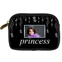 Princess Angel Falling Star Camera Case By Catvinnat   Digital Camera Leather Case   Aroyj4vhieop   Www Artscow Com Front