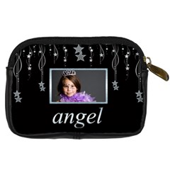 Princess Angel Falling Star Camera Case By Catvinnat   Digital Camera Leather Case   Aroyj4vhieop   Www Artscow Com Back