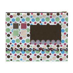 Bloop Bleep Cosmetic Bag Xl By Lisa Minor   Cosmetic Bag (xl)   Iqnyjlo0o8b5   Www Artscow Com Back