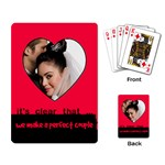 A perfect couple - PLAYING CARDS - Playing Cards Single Design