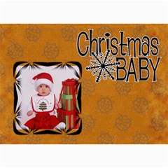 Christmas Cards   5  X 7  Photo Cards By Carmensita   5  X 7  Photo Cards   Caux5x25t36j   Www Artscow Com 7 x5 Photo Card - 7