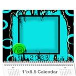 2015 WiLd ChILd - Wall Calendar 11  x 8.5  (12-Months)