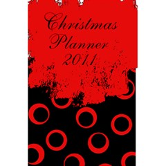 Christmas Planner By Amanda Bunn   5 5  X 8 5  Notebook   U5v3494d7c49   Www Artscow Com Front Cover