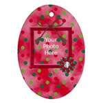 Merry and Bright Ornament Oval 101 - Ornament (Oval)