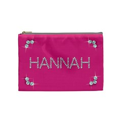Hannah By Lisa   Cosmetic Bag (medium)   7w7mcu52vo25   Www Artscow Com Front