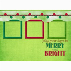 Merry And Bright Card 5x7 102 By Lisa Minor   5  X 7  Photo Cards   D7zb2etfitjt   Www Artscow Com 7 x5 Photo Card - 9