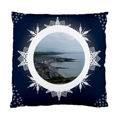 Midnight Snowstorm Cushion By Catvinnat   Standard Cushion Case (two Sides)   Rv6qpereuxcm   Www Artscow Com Front