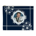 Midnight Snowstorm Cosmetic bag - Cosmetic Bag (XL)