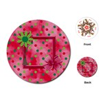 Merry and Bright Round Playing Cards - Playing Cards (Round)