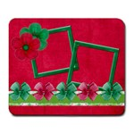 Merry and Bright Square Mouse Pad - Large Mousepad