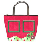Merry and Bright Bucket Bag