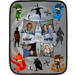 Ninja Mini Blanket - Fleece Blanket (Mini)