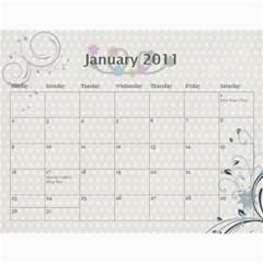 Pretty Girl 2011 Calendar By Wendi Giles   Wall Calendar 11  X 8 5  (12 Months)   5lp9svrz4wzu   Www Artscow Com Jan 2011